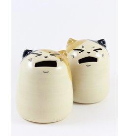 Tessa Reed Calico Cat Coin Bank by Tessaramics