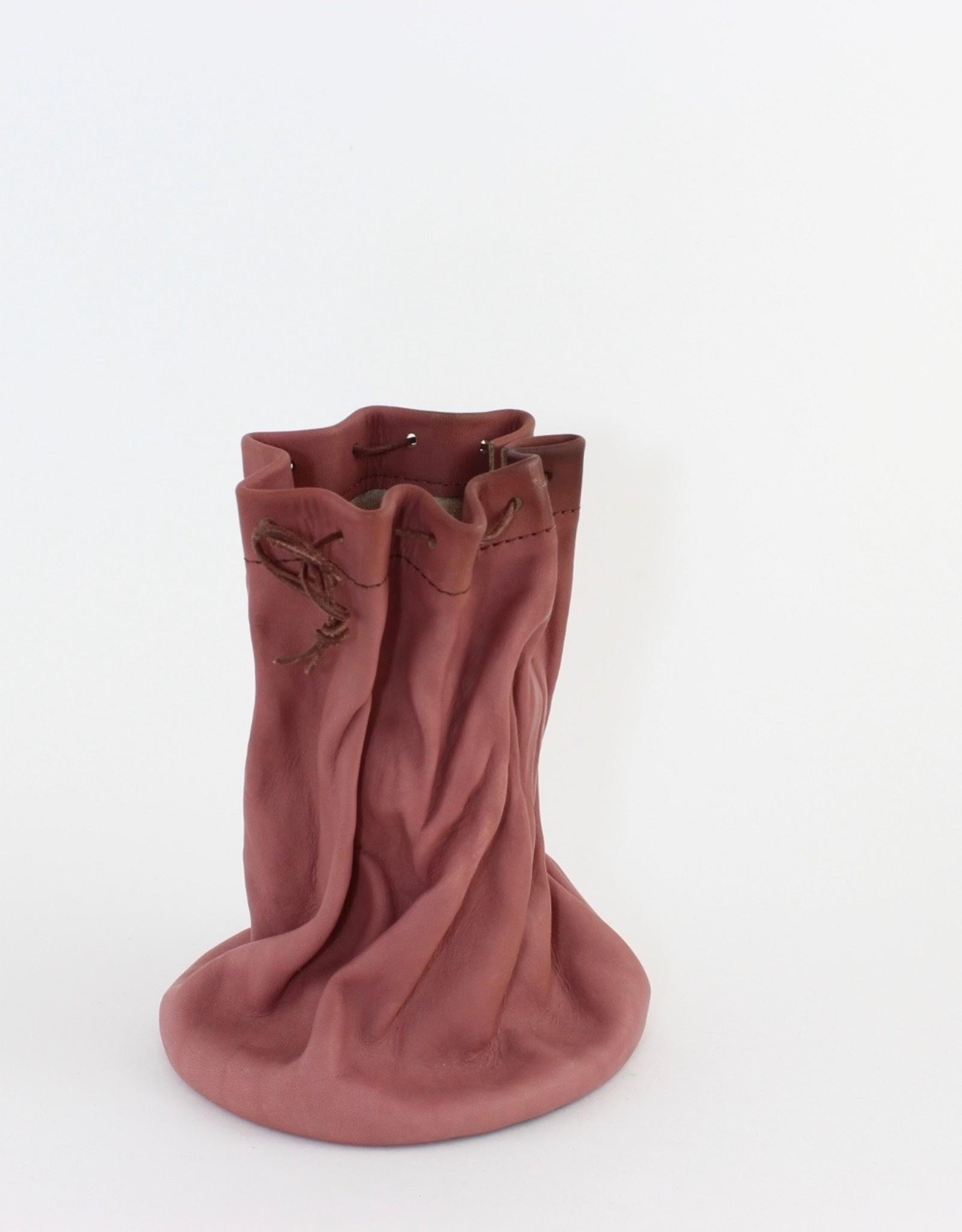 Jolene Dauphney Flower Vase by Leather Works