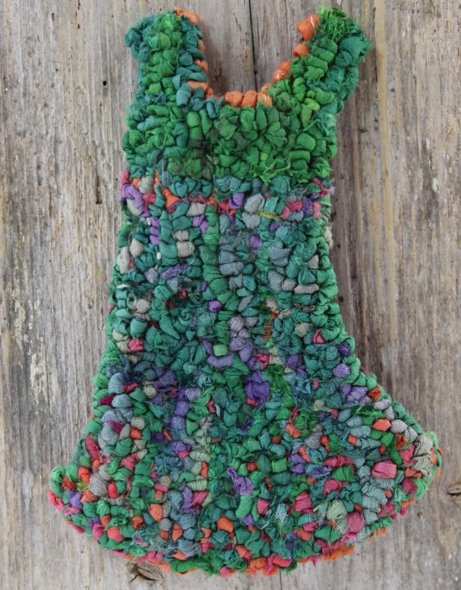Mervi Haapakoski Dress on Driftwood by Mervi Haapakoski