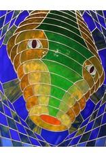 Bernard Siller whorled web worm by bernard siller