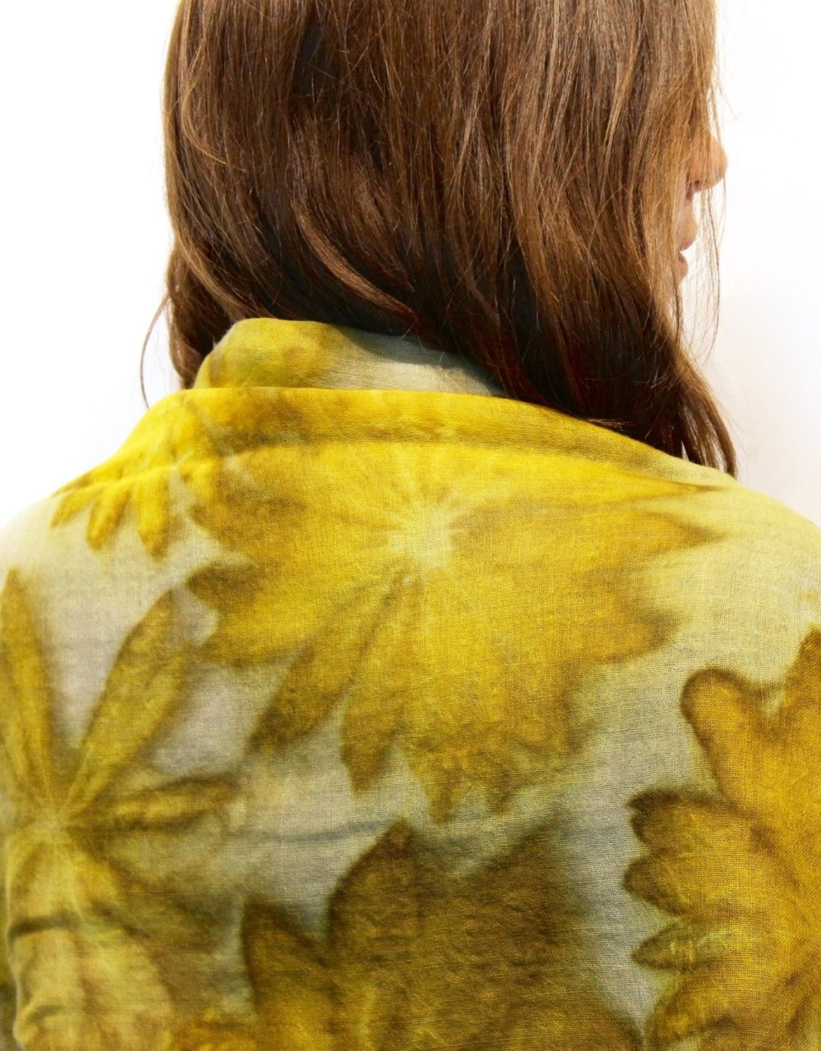Mel Sweetnam Wool Scarf Printed, extra large, by Mel Sweetnam