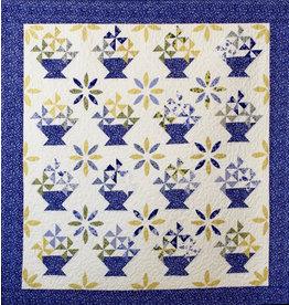 Barb MacIntyre Blue Baskets by Barb MacIntyre