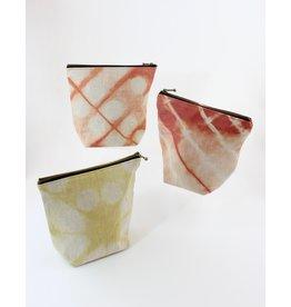 Josephine Clarke Textiles Naturally Dyed Zip Pouch by Josephine Clarke Textiles