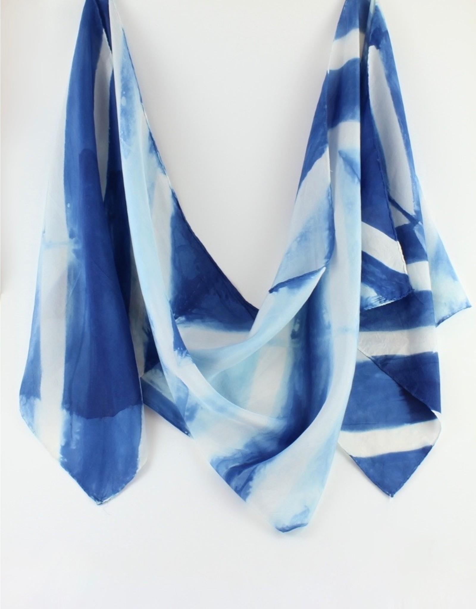 Josephine Clarke Textiles Hand Dyed Silk Scarves by Josephine Clarke Textiles
