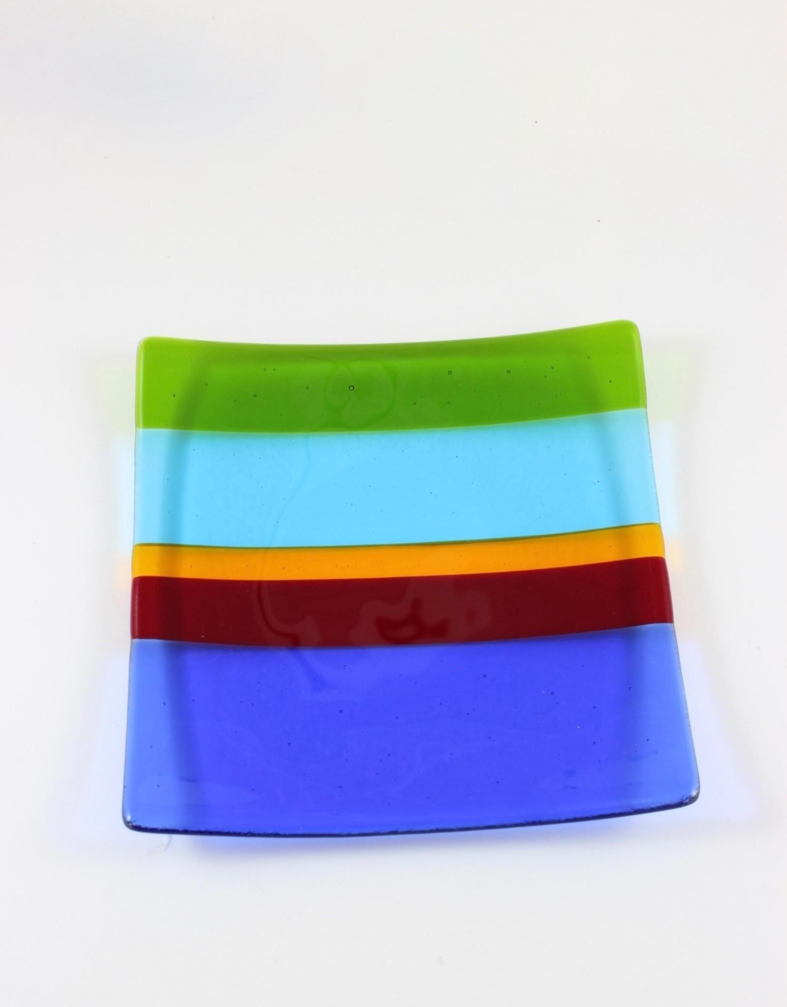 Bonnie Brugger Sushi Plate by Bonnie Brugger