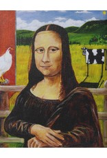Michel Williatte-Battet Mona Reproduction by Michel Williatte-Battet