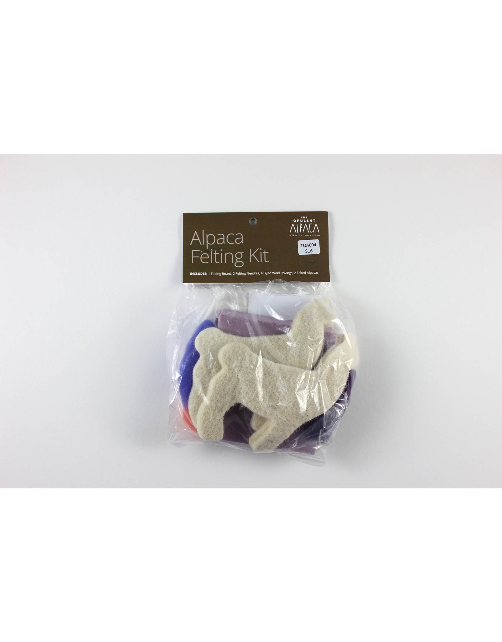 The Opulent Alpaca Alpaca Felting Kit by The Opulent Alpaca