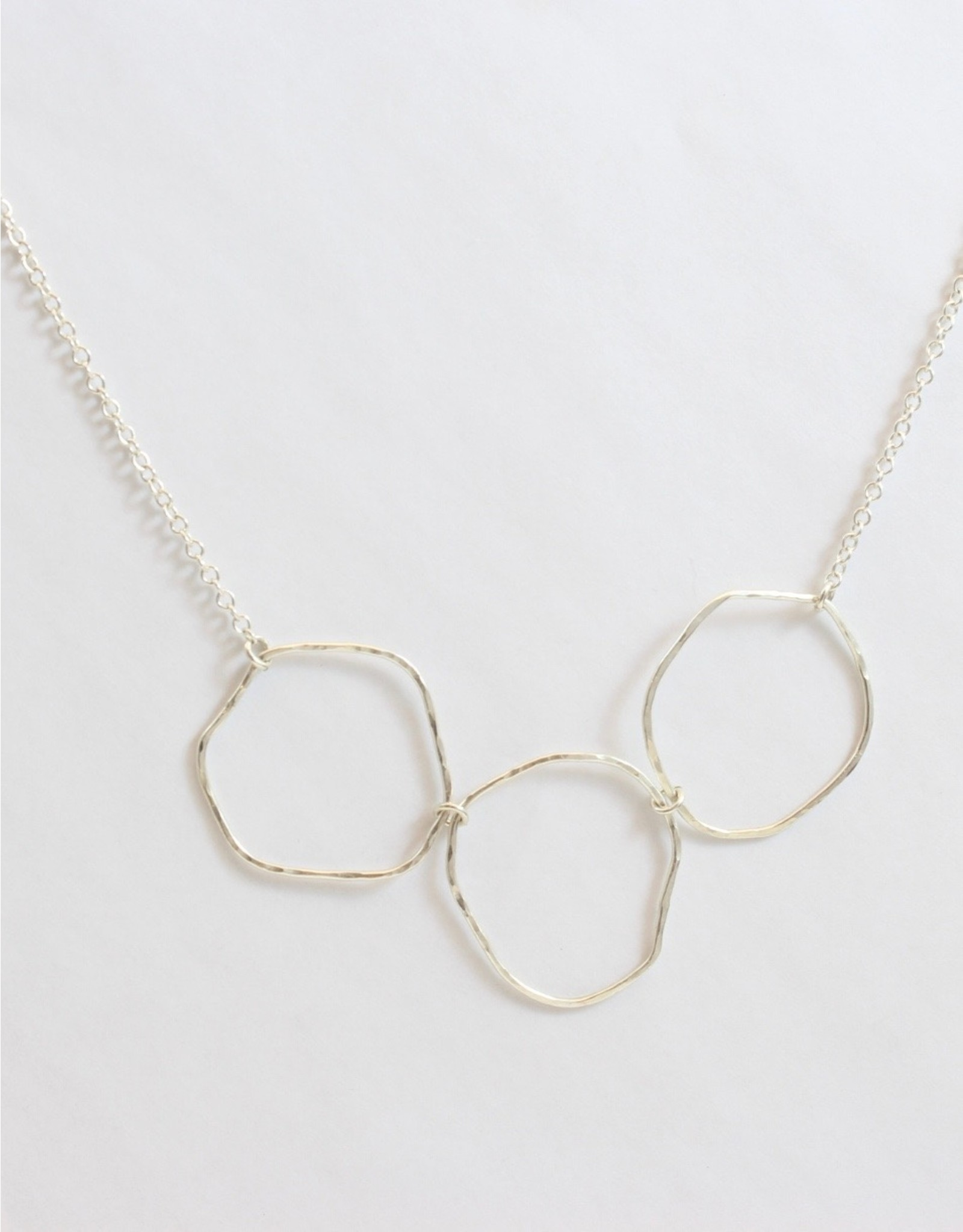Jim & Judy MacLean Hoops and Chain Necklace by Jim & Judy McLean