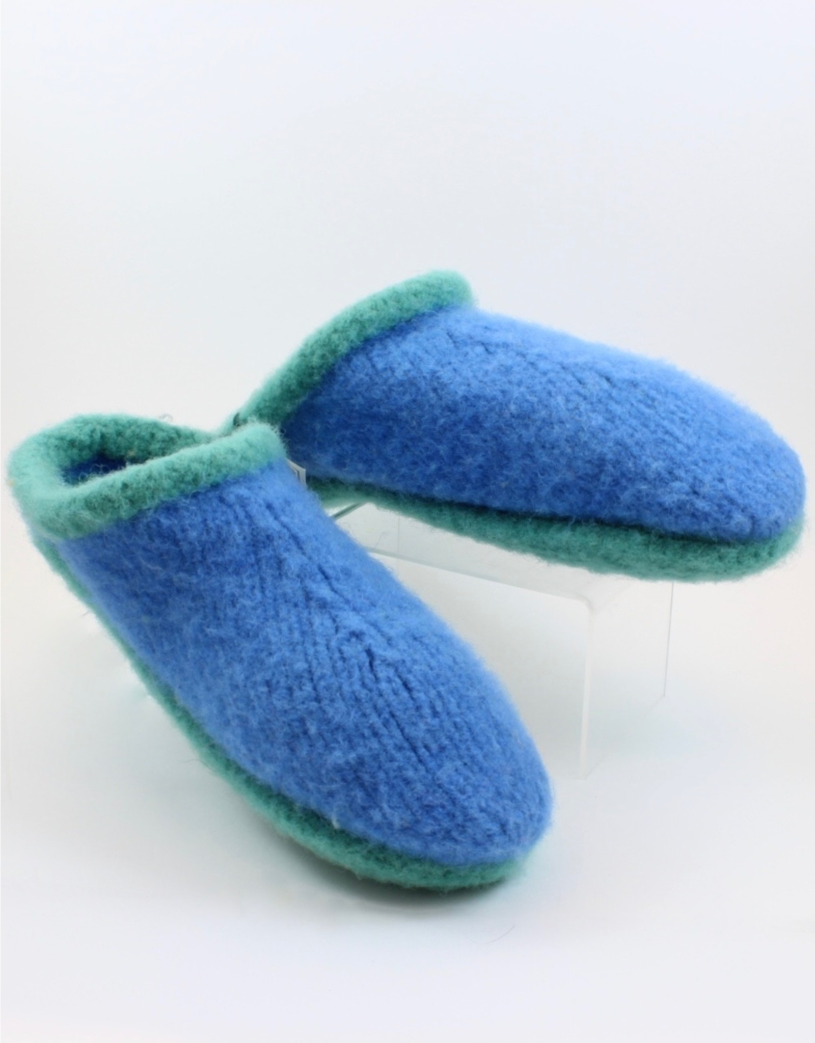 Lester Wood/Lynne Pascoe Wool Slippers by Sheep's Clothing Inc.