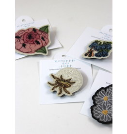 Juliana Scherzer Assorted Floral Pins by Juliana Scherzer