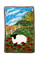 Betty Paruch Sheep in the Poppy Field by Betty Paruch