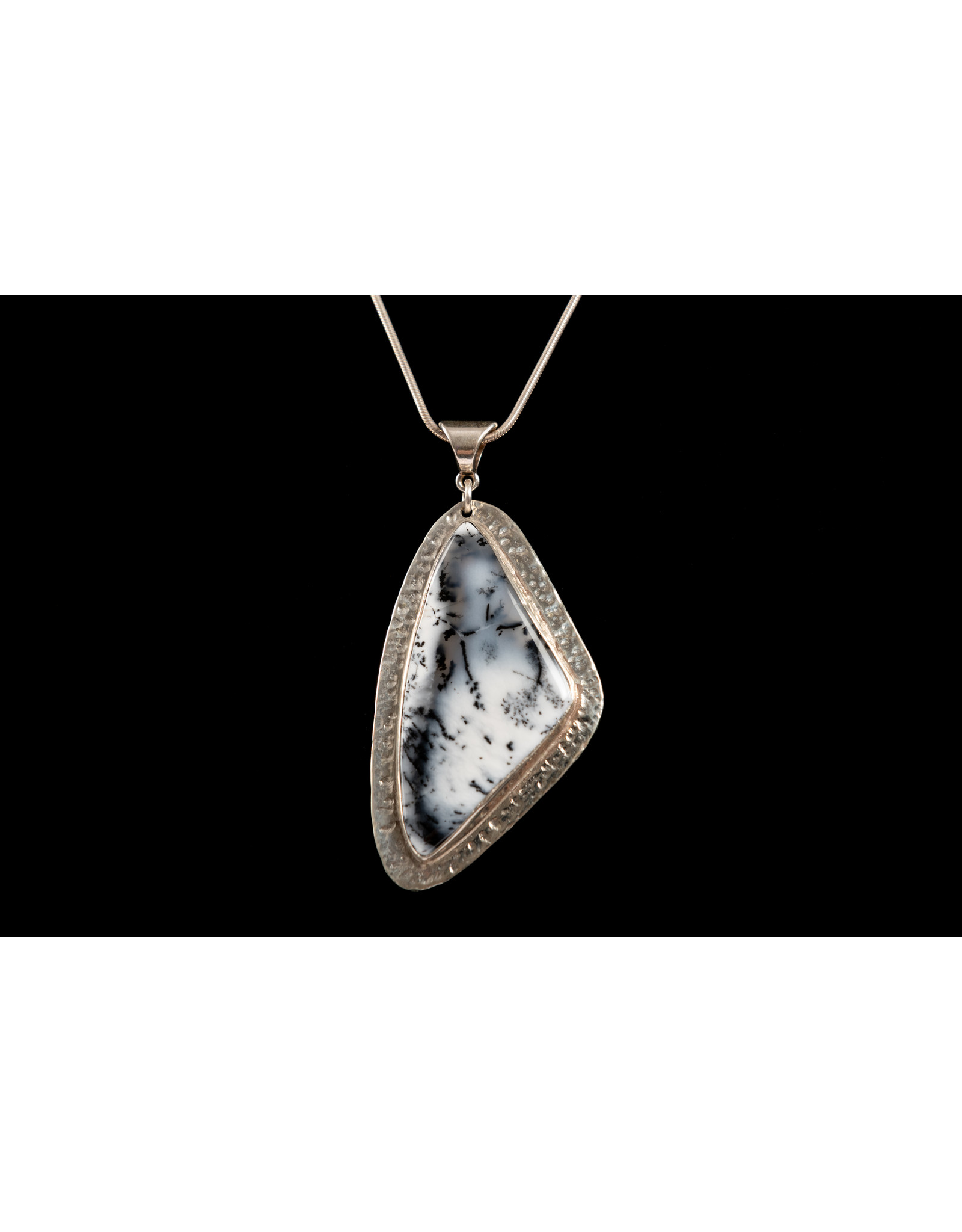 Jim & Judy MacLean Dendrite Pendant by Findings for Friends