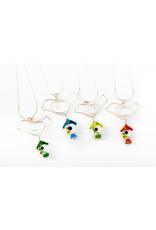 Tasha Matthews Bird Doodle Necklace by Tasha Grace Designs