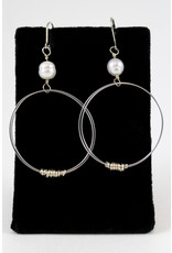 Dawn Silver Bass Earrings by Encore Jewellery