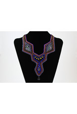 GUNDI Embroidered and Beaded Necklace by Gundi