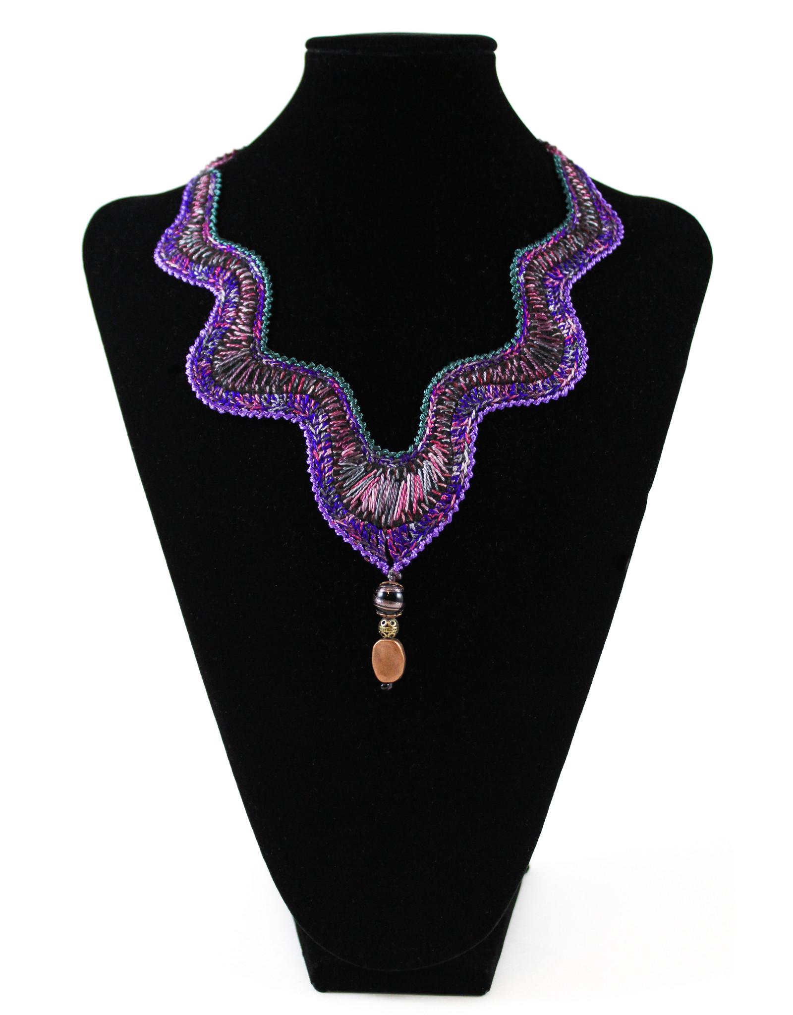 GUNDI Embroidered Necklace by Gundi