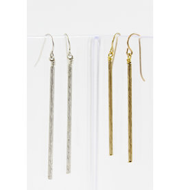 Jacqueline Finn Tube Earrings by Jacqueline Finn