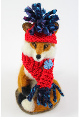 Virginia Donovan Laura the Felted Fox by Virginia Donovan