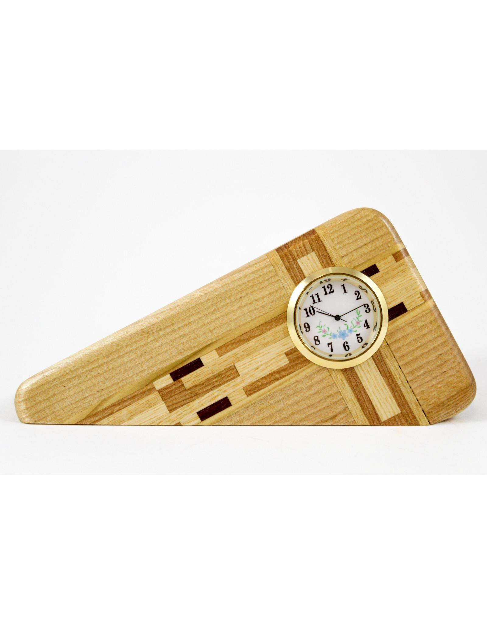 Robert Evans Handcrafted Clock by Woodsmiths