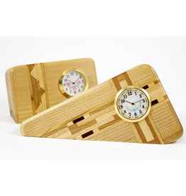 Robert Evans Handcrafted Clock by Woodsmiths