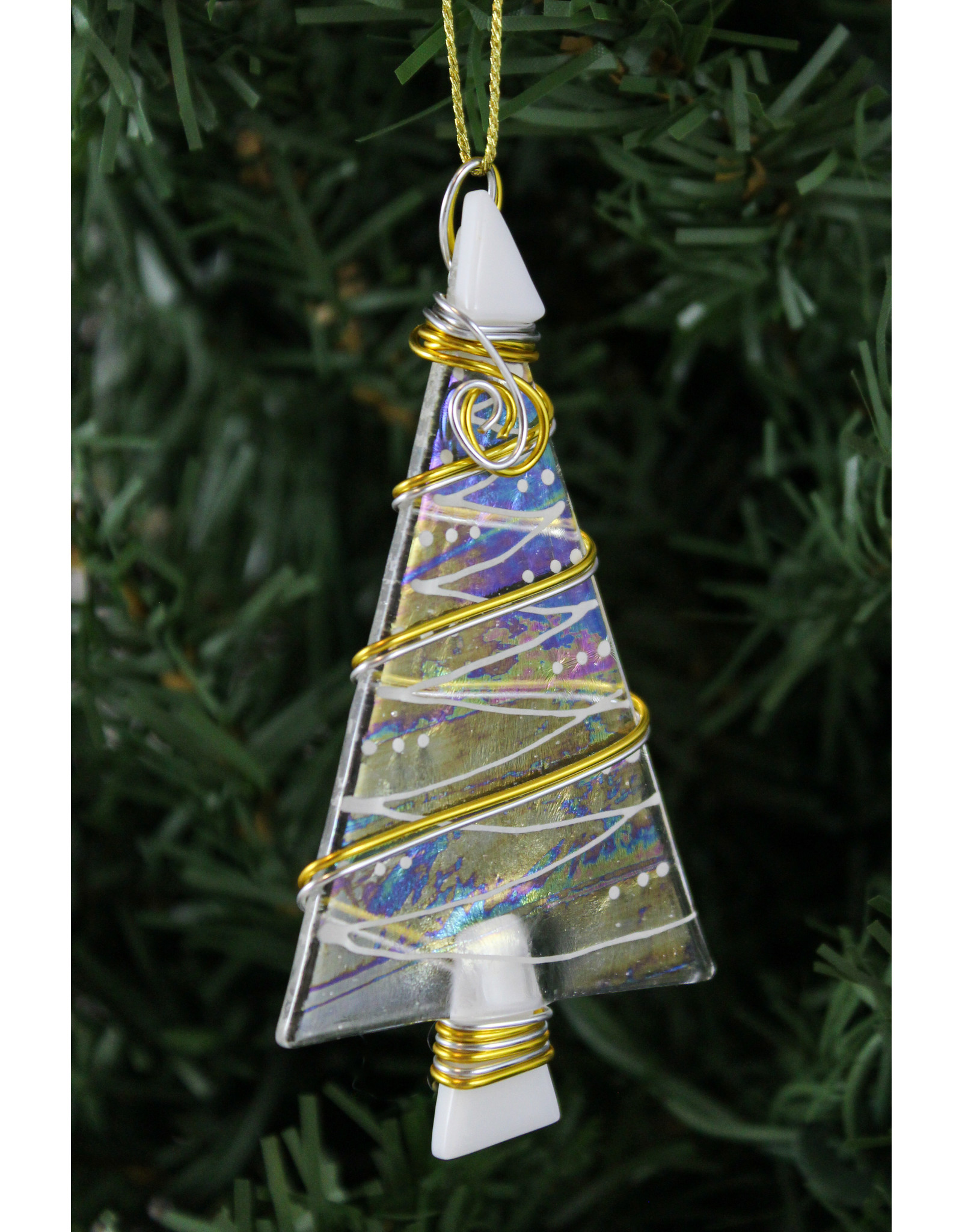 Brent Harding Fused Glass Ornaments by Brent Harding