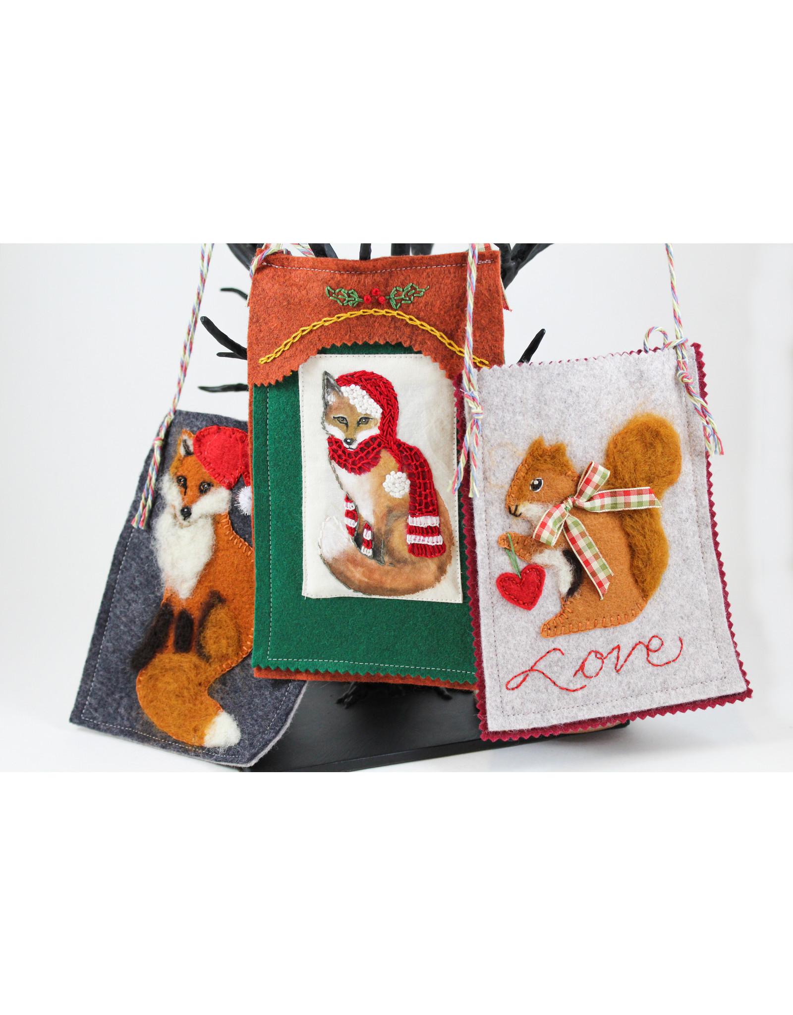 Virginia Donovan Felt Bags by Virginia Donovan
