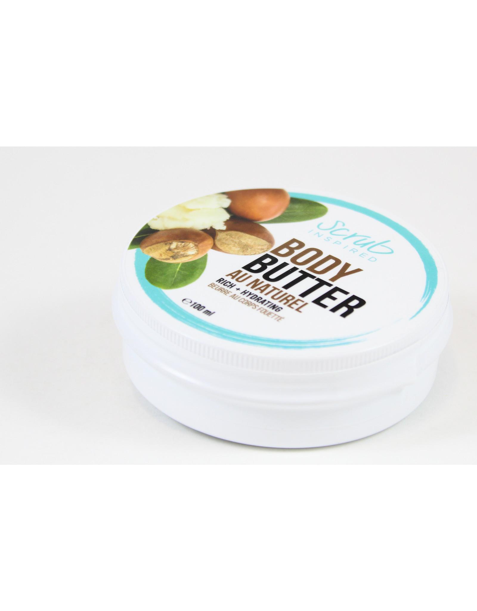 Scrub Inspired Au Naturel Body Butter by Scrub Inspired