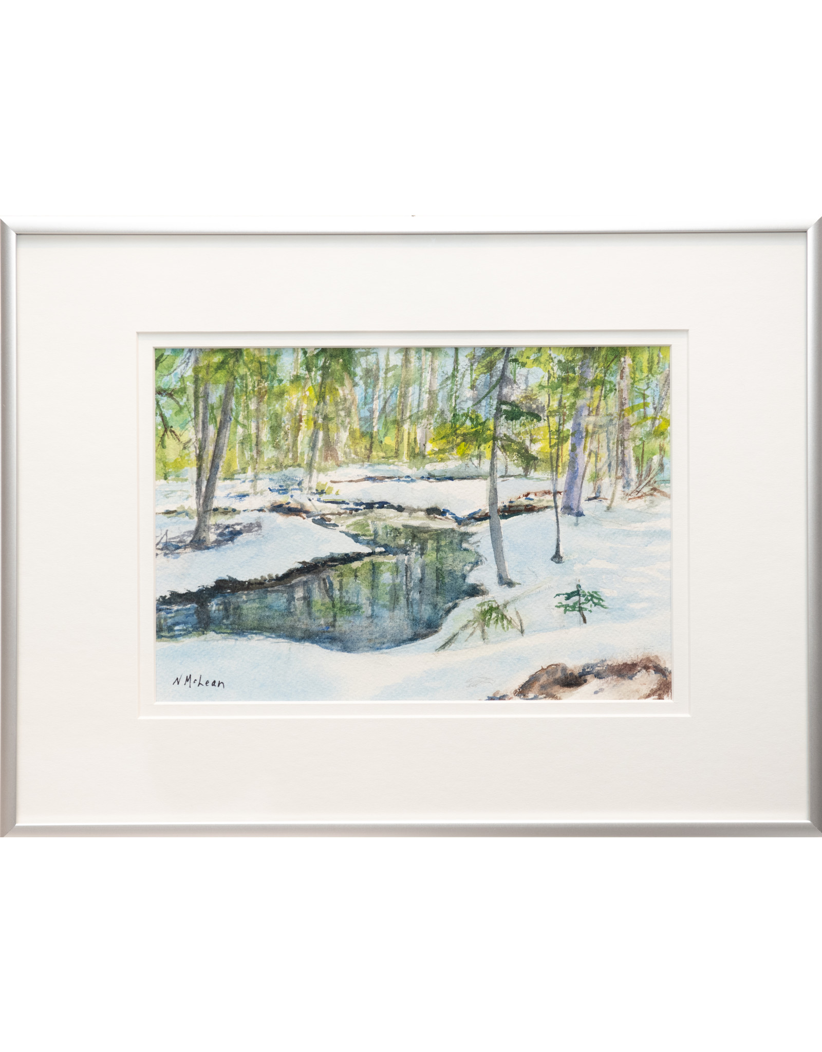 Nancy McLean Winter Reflections by Nancy McLean