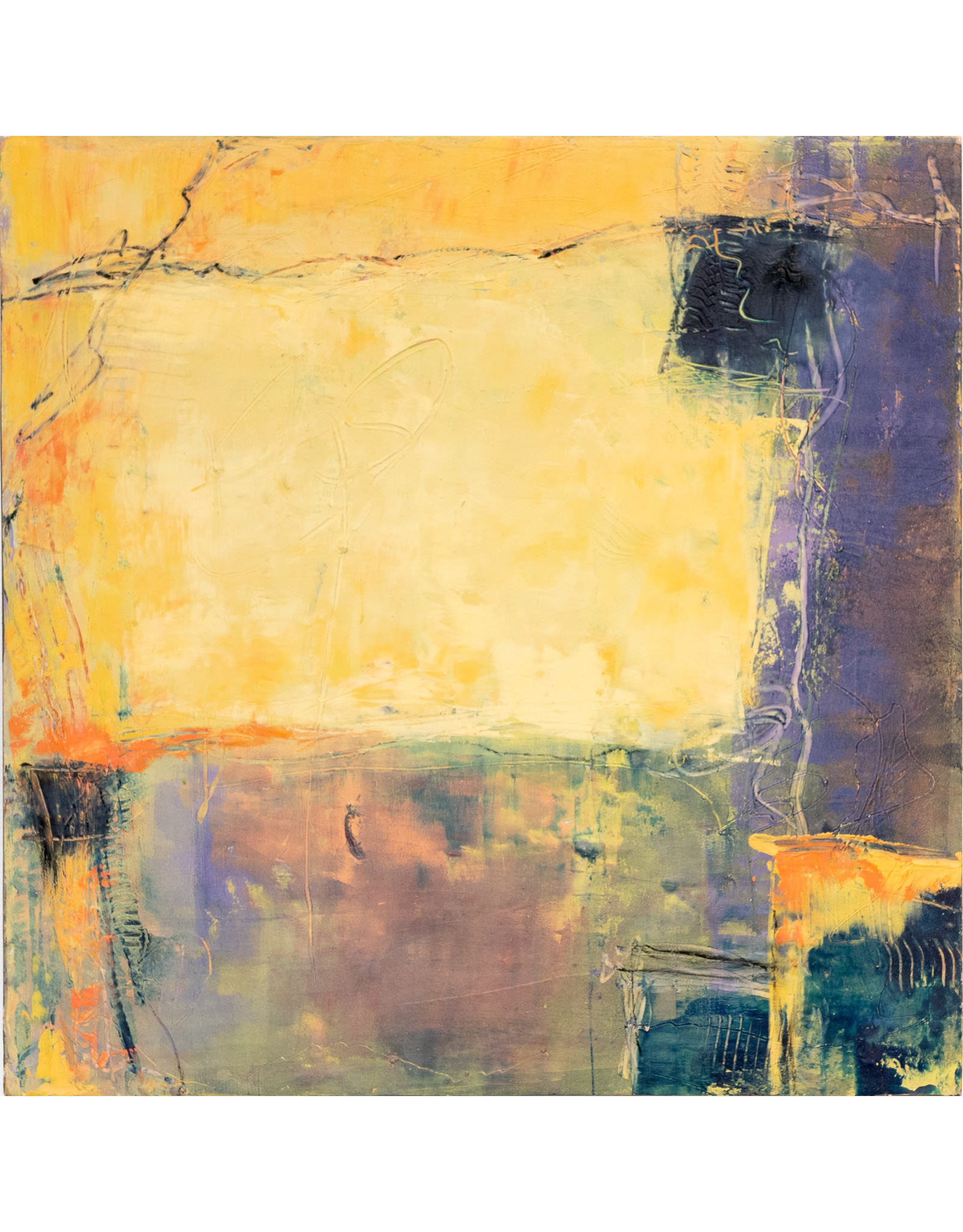 Linda Wright Golden Passage by Linda Wright