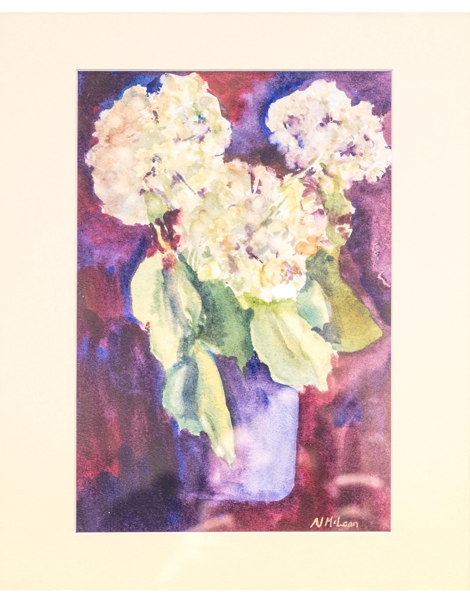 Nancy McLean Hydrangea Bouquet by Nancy McLean