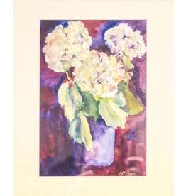 Nancy McLean Hydrangea Bouquet  by Nancy McLean