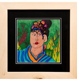 L'Arche Self-Portrait (Frida Kahlo) by Joan MacDonald