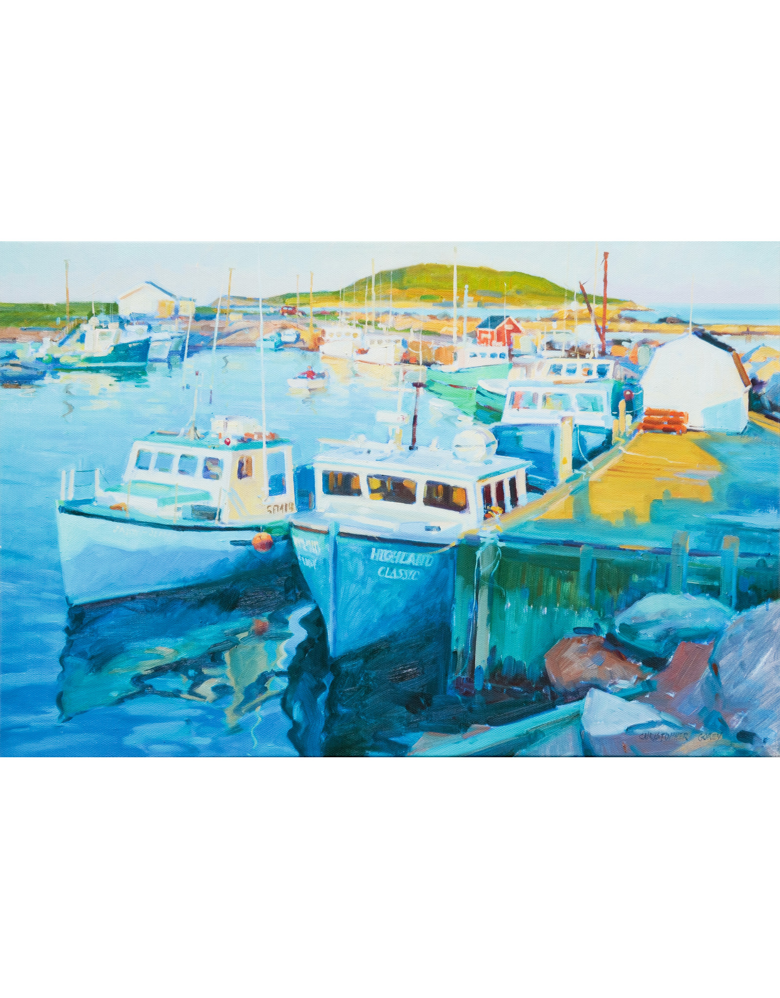 Christopher Gorey Afternoon Harbour, Ingonish by Christopher Gorey
