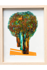 Reza Bigonah Trees and Birds (Bird in Tree) by Reza Bigonah