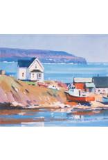 Christopher Gorey Cape Breton Harbour by Christopher Gorey