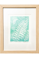 Teena Marie Fancey Framed Linocut Prints by Teena Marie Fancey
