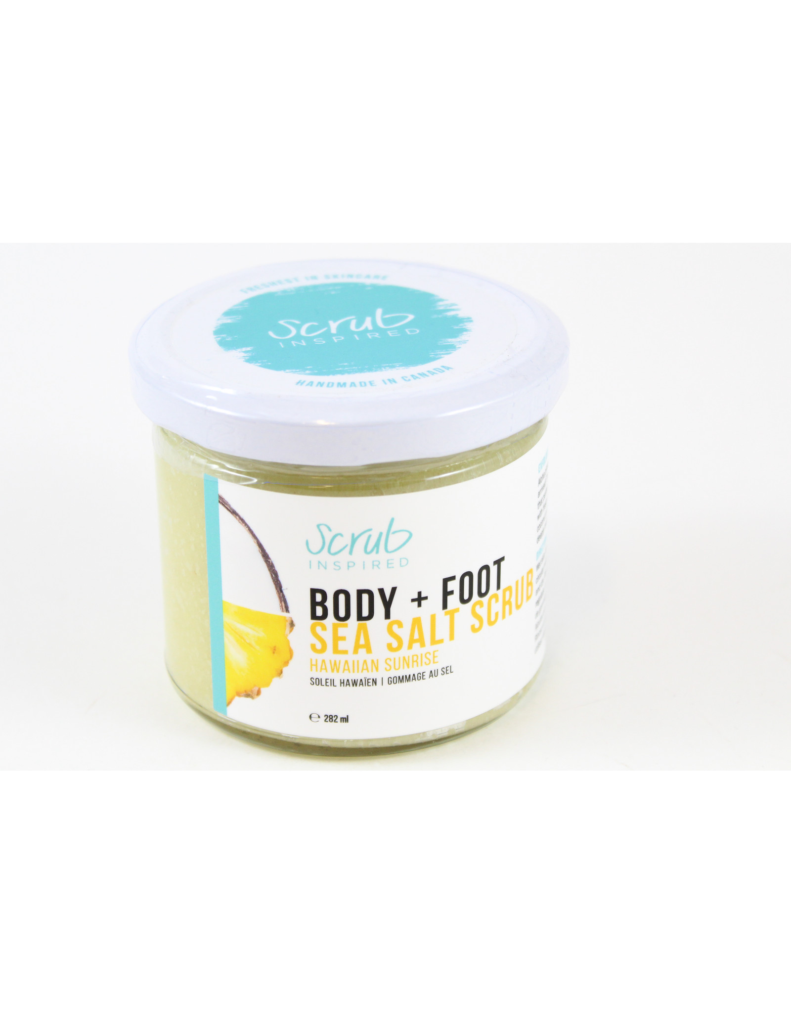Scrub Inspired Body and Foot Scrubs by Scrub Inspired