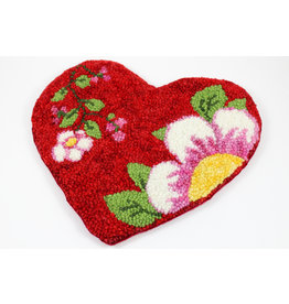 Betty Paruch Large Heart Hot Pad by Betty Paruch