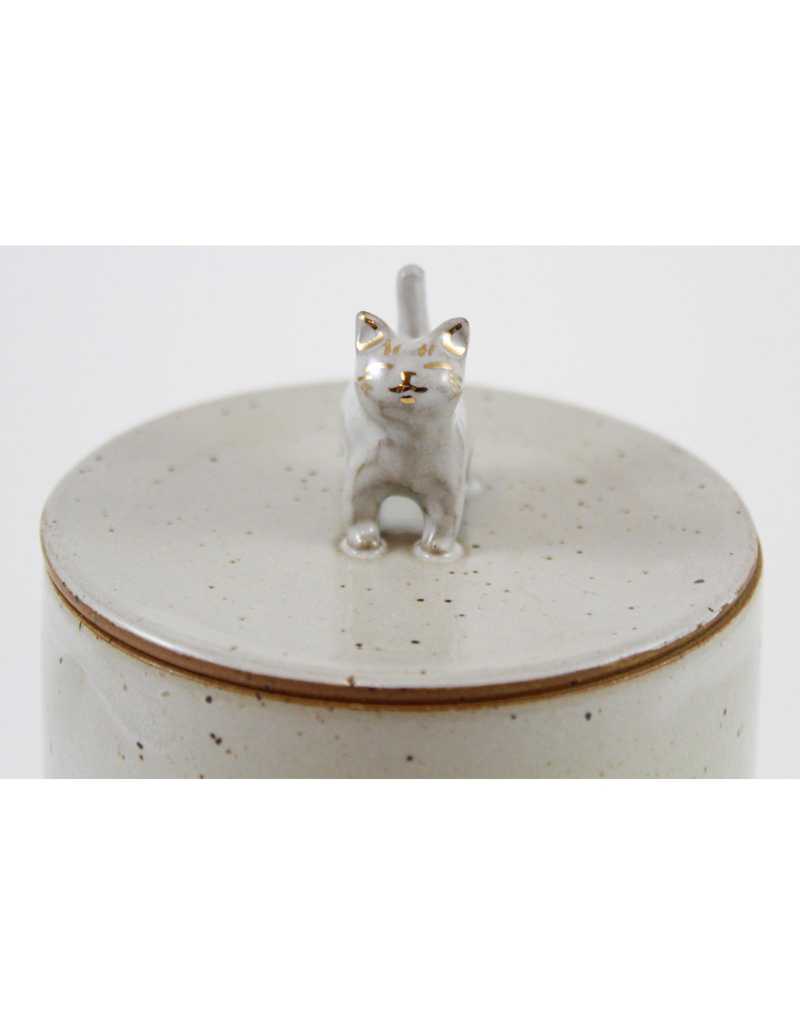 Tessa Reed Cat Jar by Tessaramics