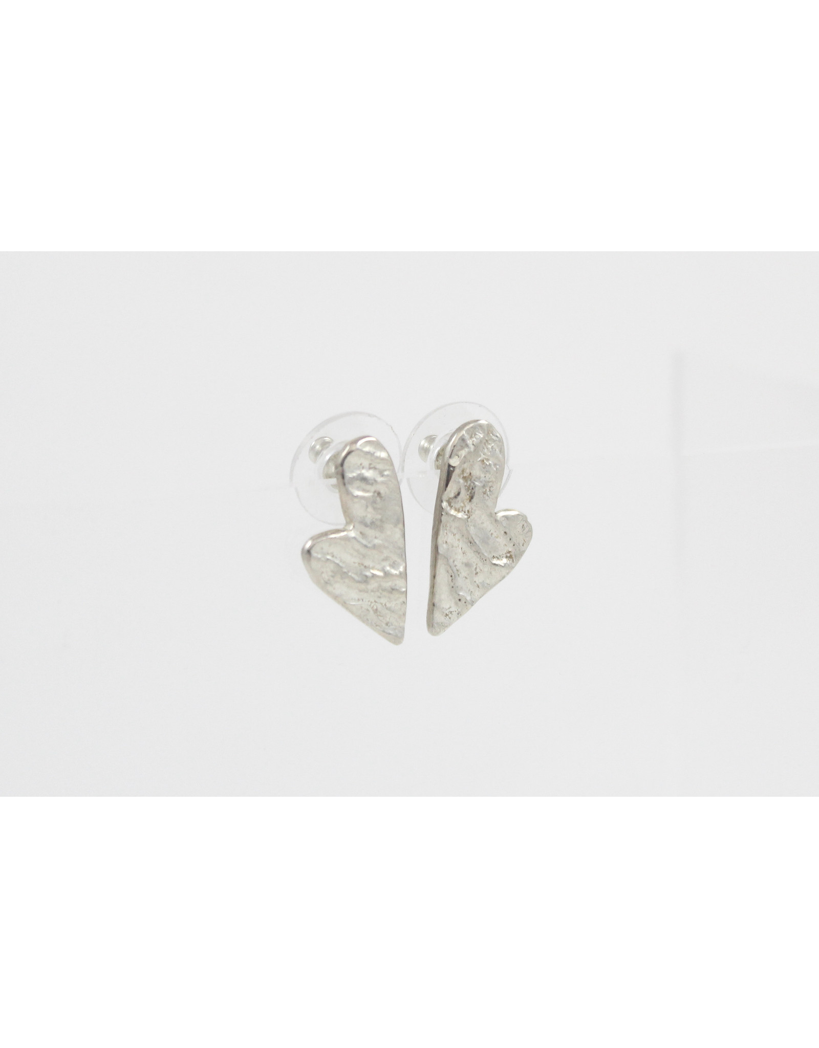 Karen Wawer Heart Stud Earrings by Karen Wawer