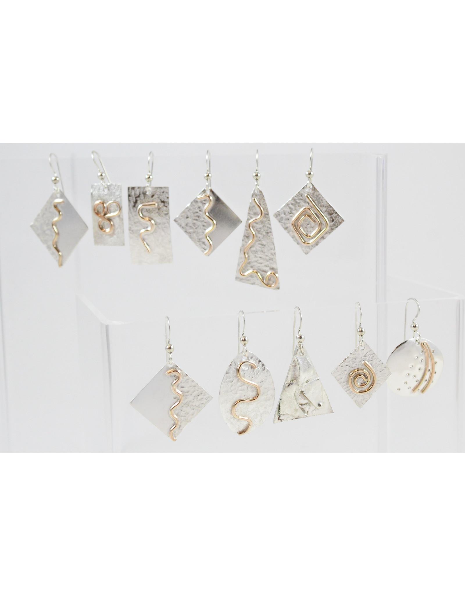 Jim & Judy MacLean Dangle Earrings by Findings for Friends
