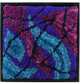 Carol Beaton Framed Hooked Mats (5 Styles) by Joynat Designs