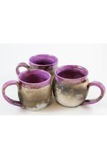 Nancy Oakley Smoke-Fired Mugs by Nancy Oakley
