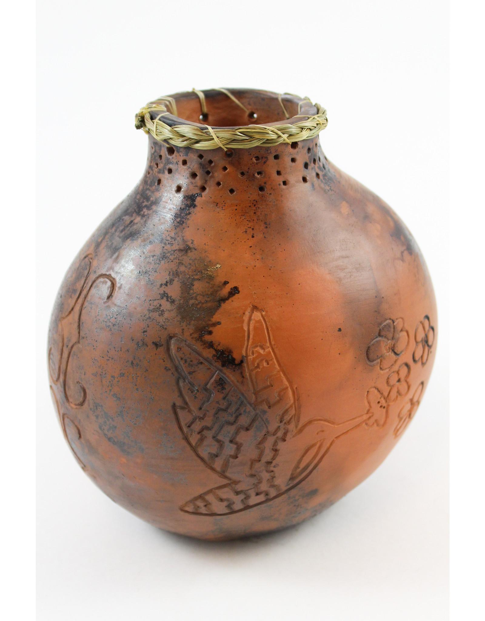 Nancy Oakley Hummingbird Water Jug by Nancy Oakley