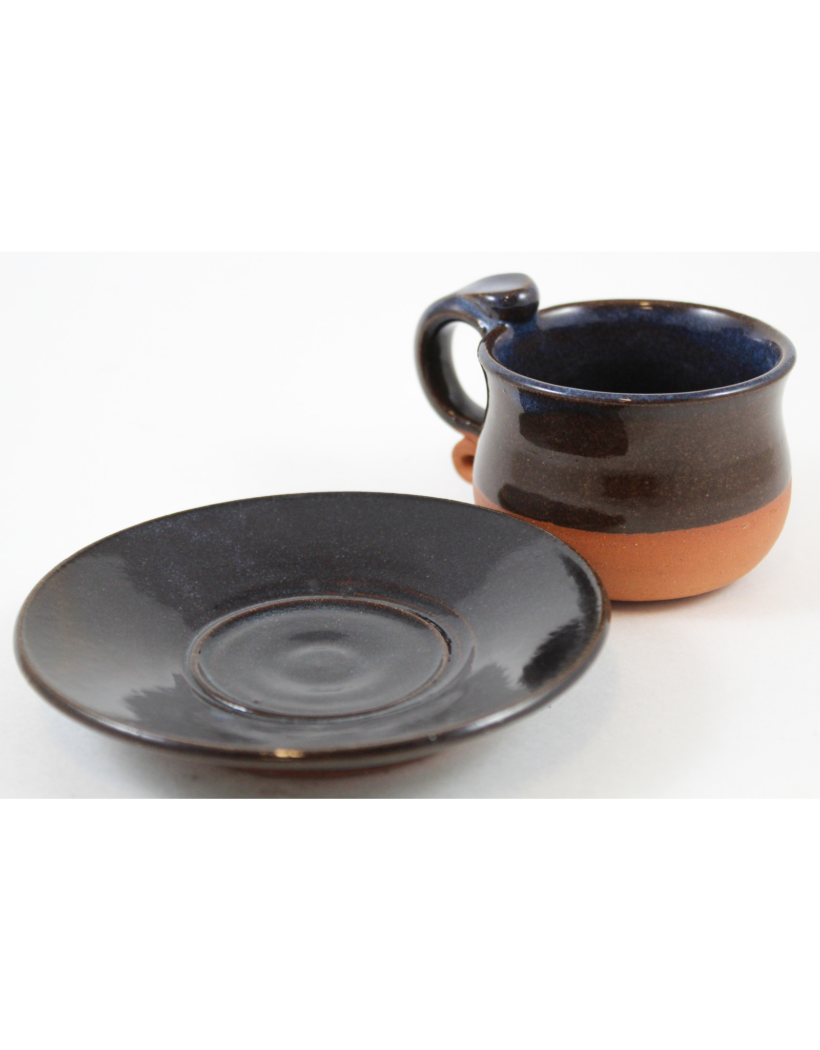 Jitka Zgola Espresso Cup and Saucer by Jitka Zgola
