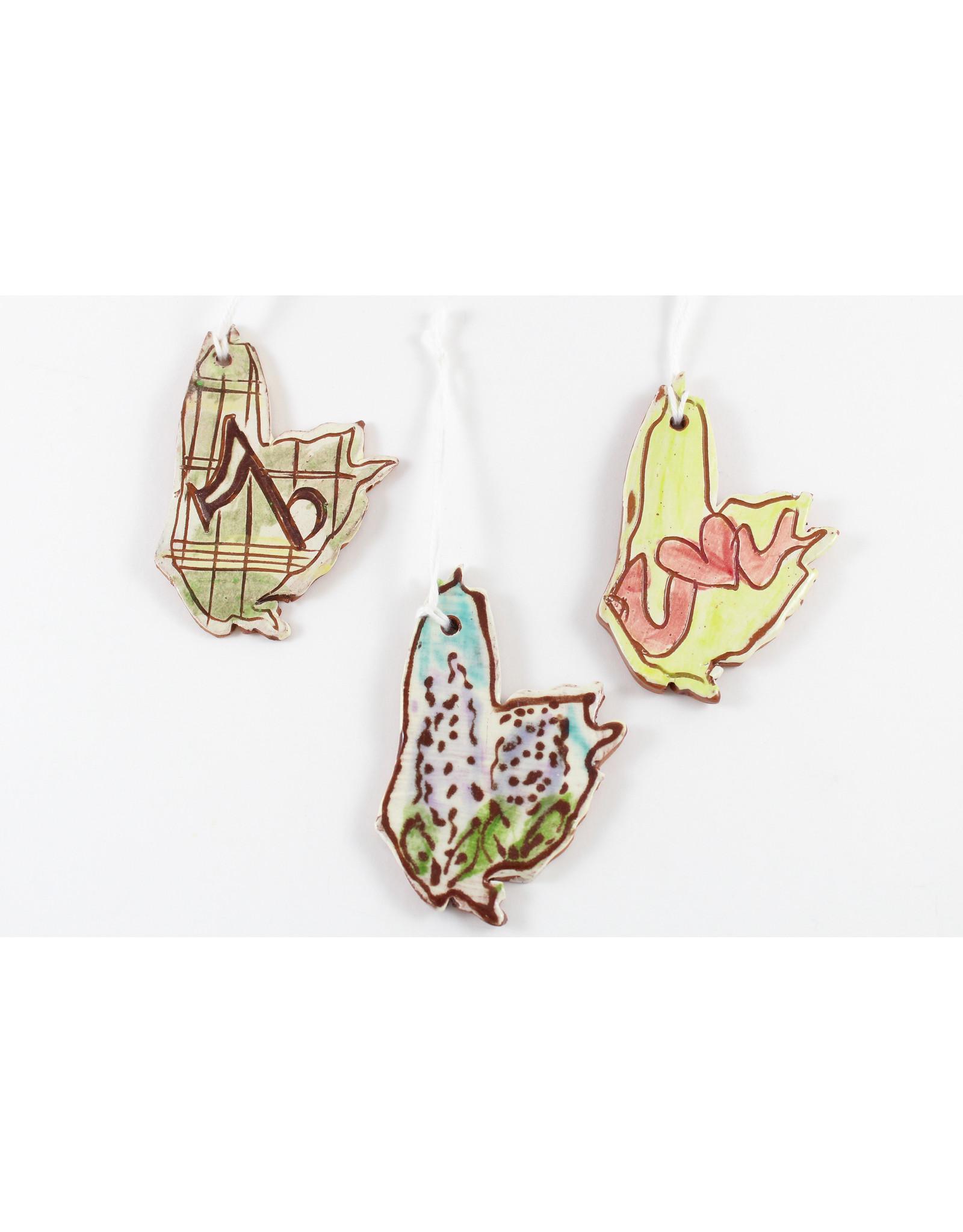 Victoria Bonin-MacKenzie Cape Breton Island Ornaments by Victoria Bonin-MacKenzie