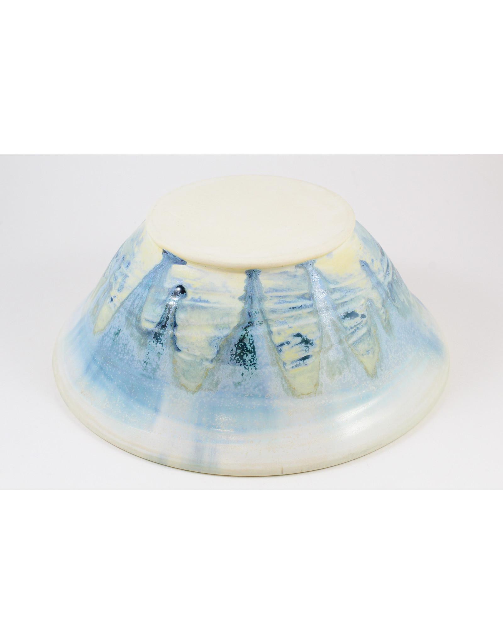 Linda Wright Large Oceanic Bowl by Linda Wright