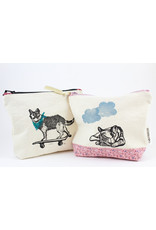 Cabot & Rose Block Printed Zip Bags by Cabot & Rose