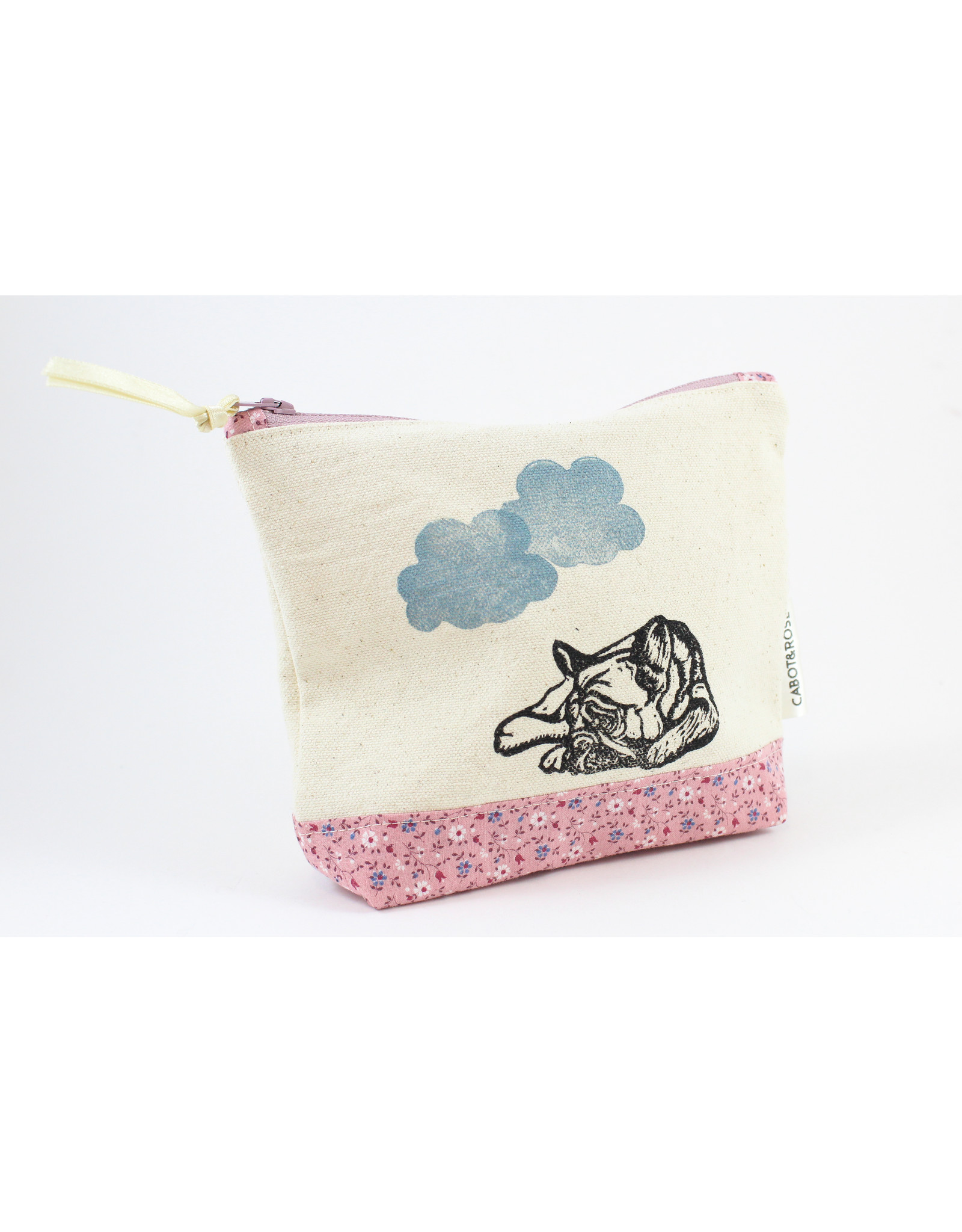 Cabot & Rose Block Printed Zip Bags by Cabot & Rose