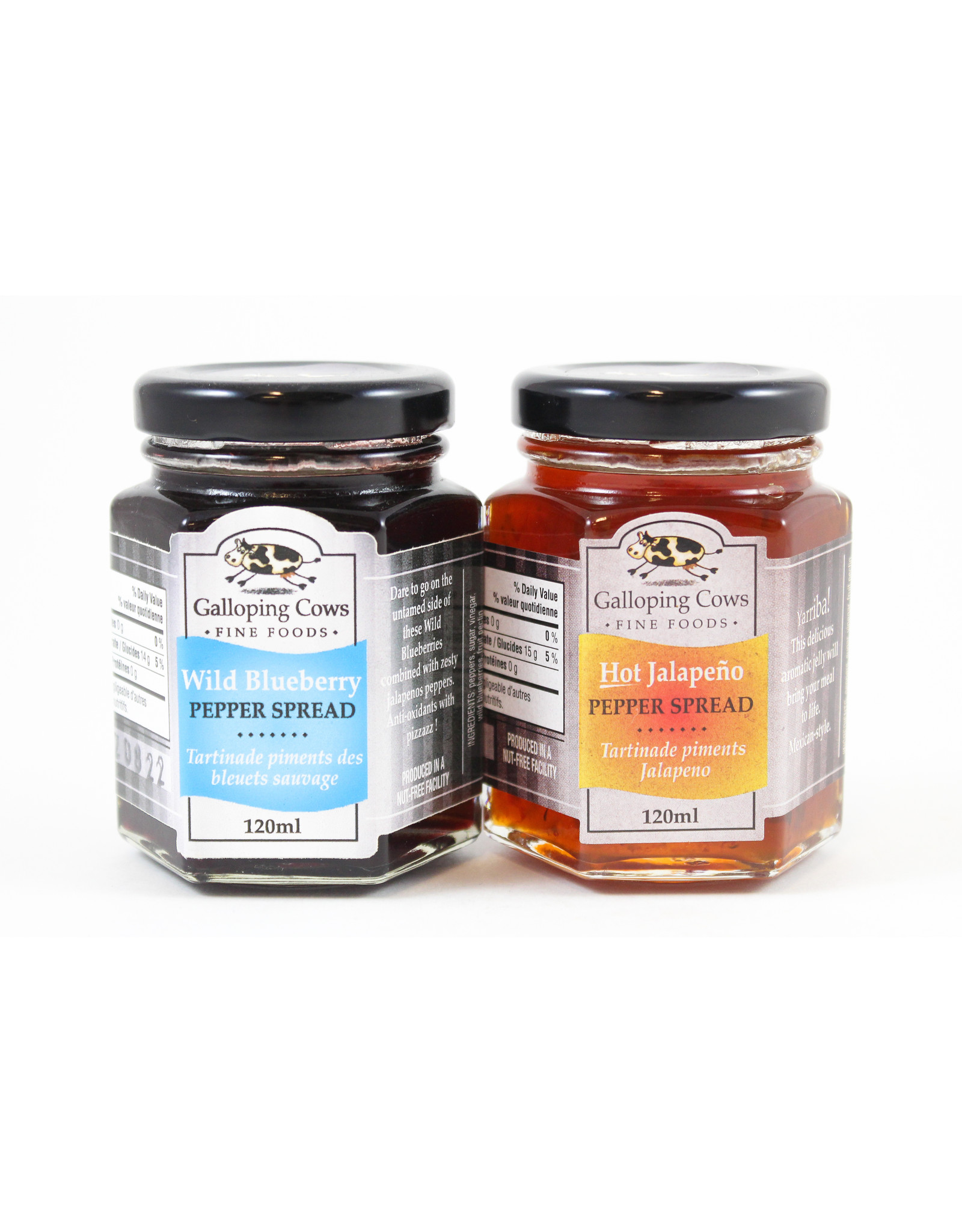 Galloping Cows 120ml Spreads by Galloping Cows